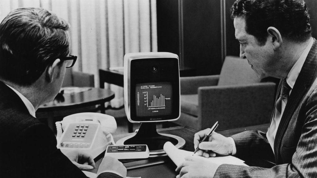 Le Picturephone, la première solution de visioconférence commercialisée